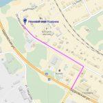Карта объектов дорожной инфраструктуры