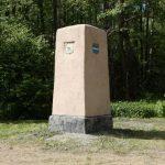 Межевой знак: Юхнов. Граница Калужской и Смоленской губерний